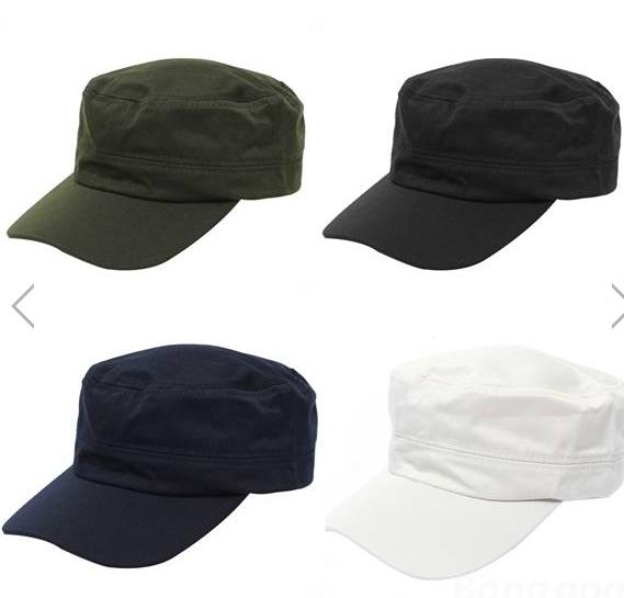 39cf8458ee3 Unisex Adjustable Classic Army Plain Vintage Hat Cadet Military Outdoor  Baseball Cap