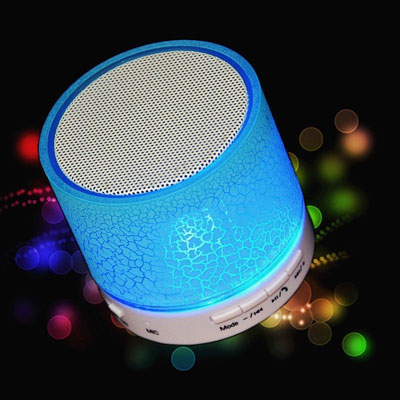 Portable Mini LED Bluetooth Speaker 1