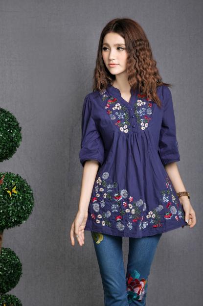 TripleClicks.com: Women's Clothing Cotton Spring Ethnic ...