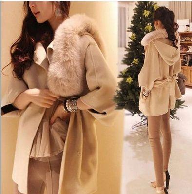 Fashion Cloak Women Cashmere Coat