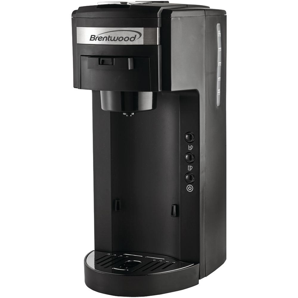 TripleClicks.com: Brentwood Single-Serve Black Coffee Maker