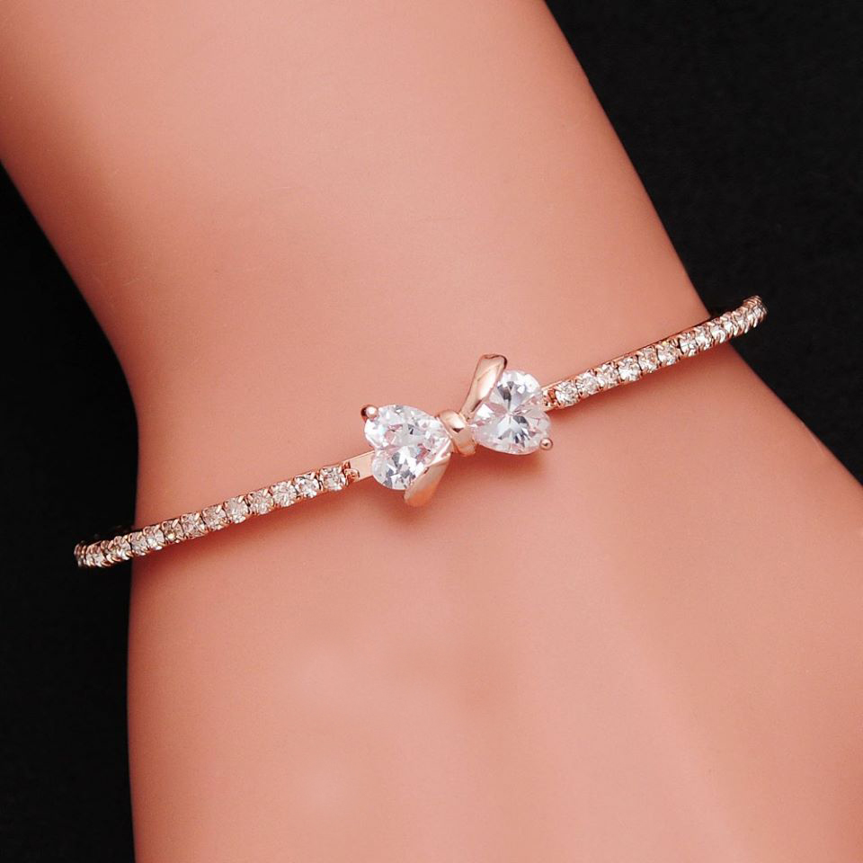 Popular Bangle Bracelets: TripleClicks.com: New Arrival Hot Sell Top Quality AAA CZ