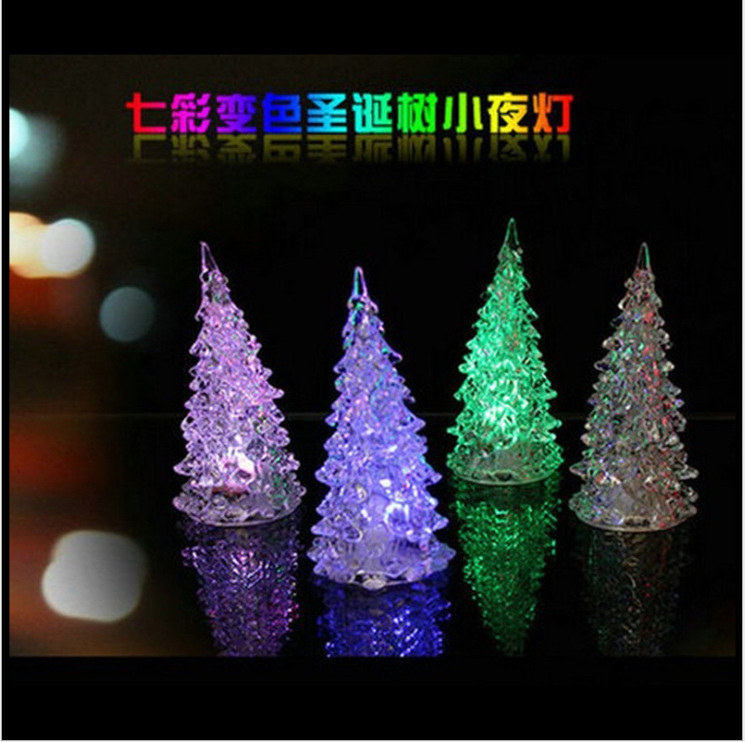 tripleclickscom mini led lighted christmas treeindoor christmas decorationchristmas ornaments trees new year gift - Christmas Tree Night Light