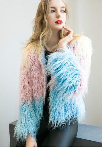 Multicolor Long Coat