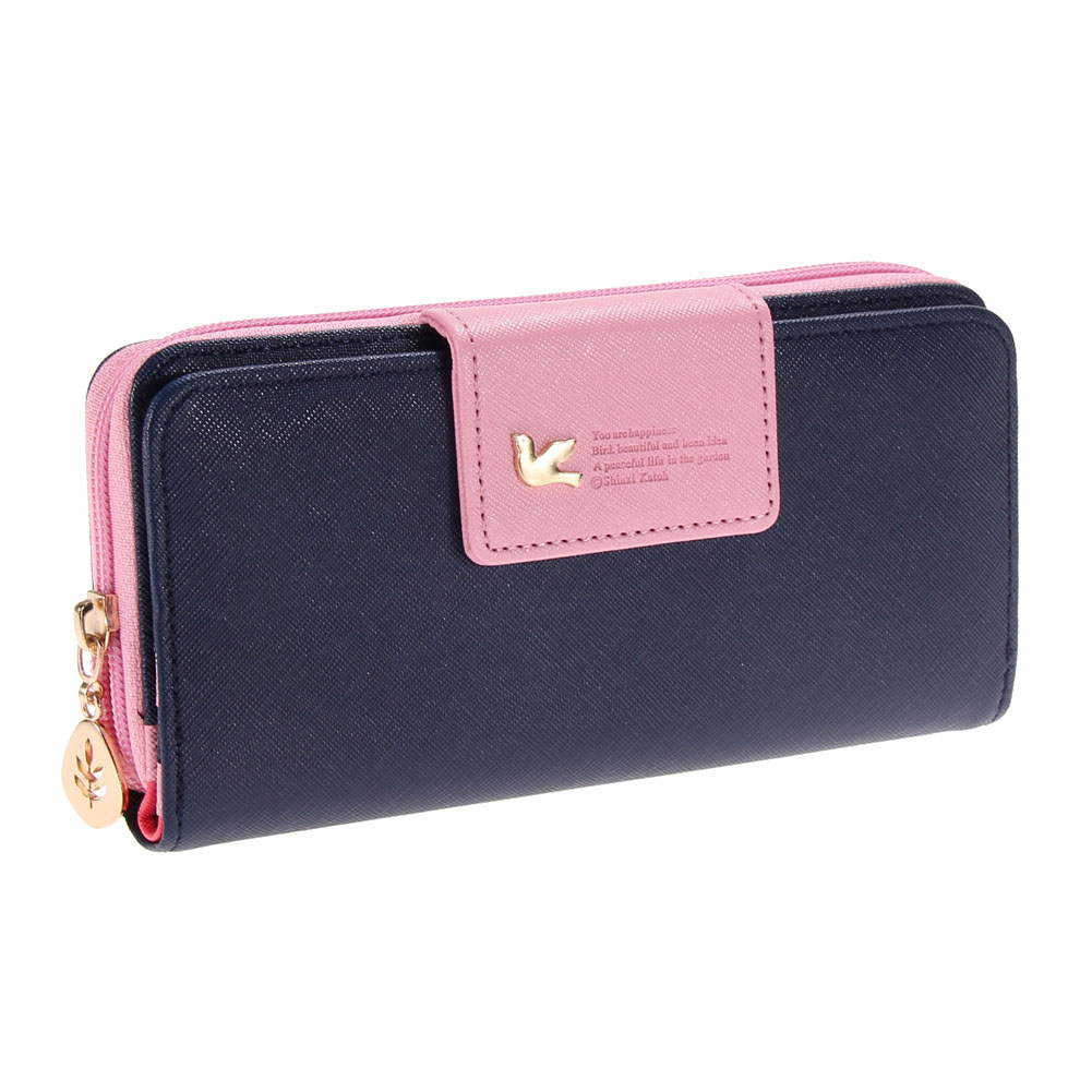 tripleclickscom women leather wallet