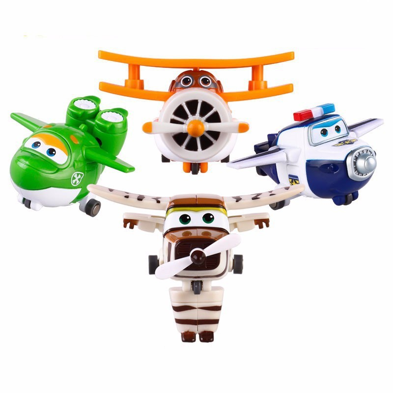 Christmas Number One Toy For Boys : Tripleclicks mini airplane robot super wings toys