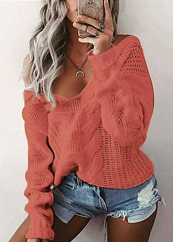 Long Sleeve Loose Regular Pullover