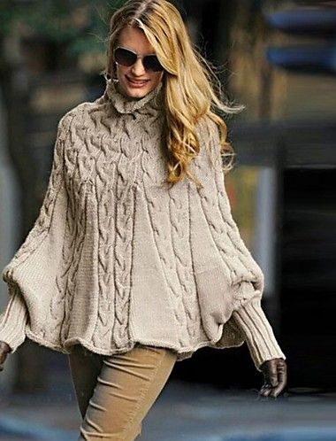 Women's Solid Colored Long Sleeve Pullover