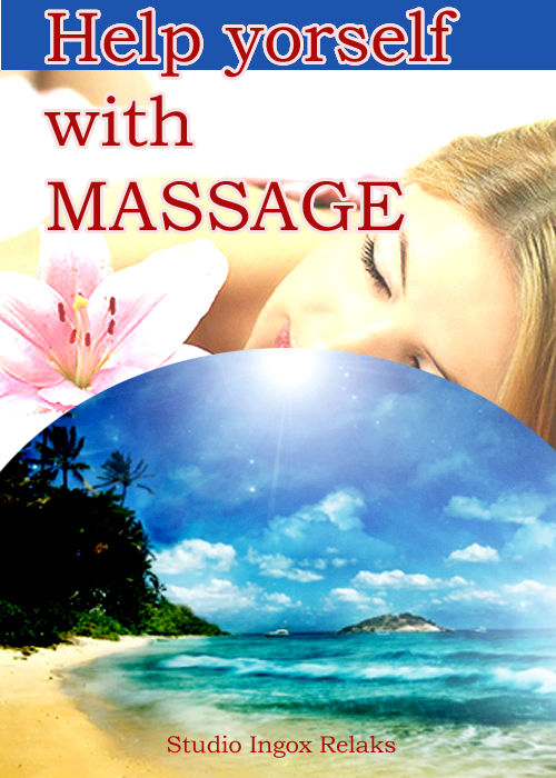 Online shopping idea massage book