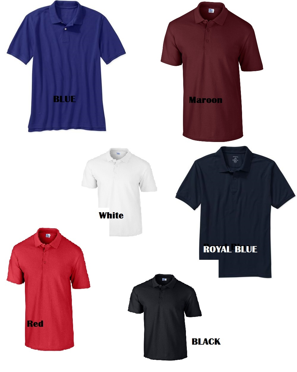 Design your own custom embroidered polo for Design your own polo shirts