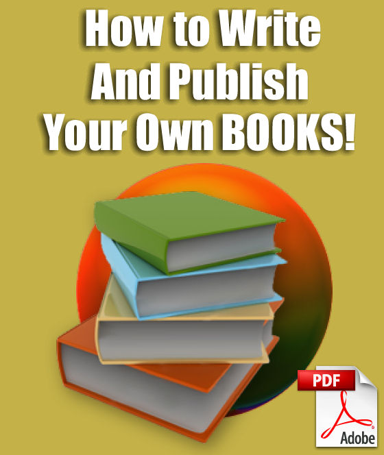 how to write and publish a book