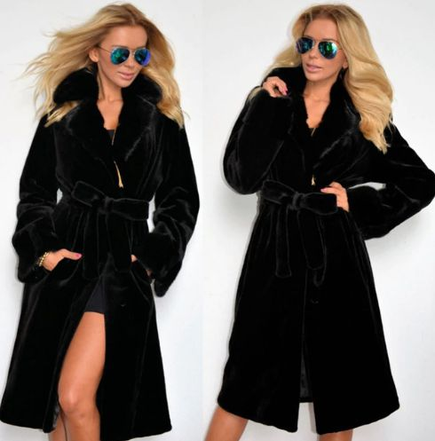 Winter Warm Thick Wool Coat Jacket