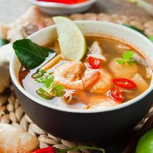 Tom Yum Sai (Hot and Sour Soup)