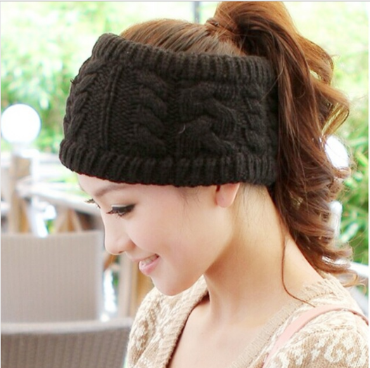 0de876c3b7 Fashion Korean Winter Warm Women Braided Knit Hat Cap Headband Hair Bands